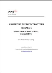 Maximizing the impacts of your research: A handbook for social scientists