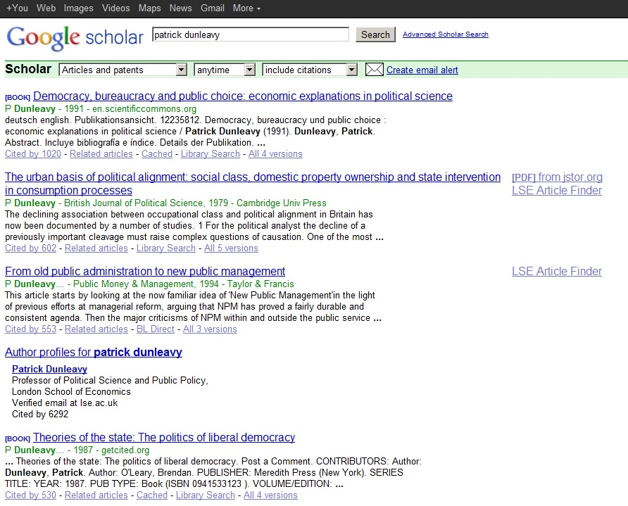Google Scholar Citations Is Now Open To Everyone It Shows