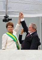 Dilma and Lula small