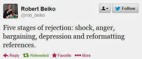 bishop 5 stages rejection