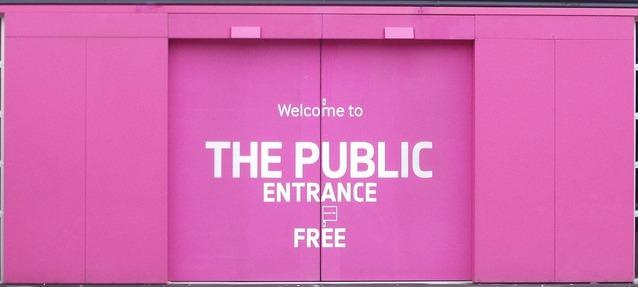 public entrance