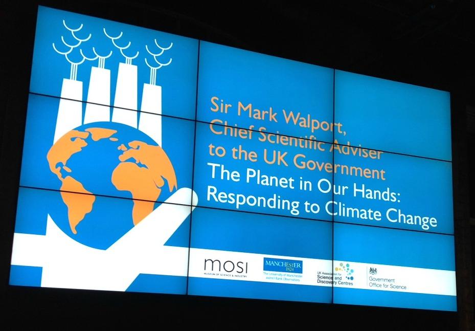 climate change talk