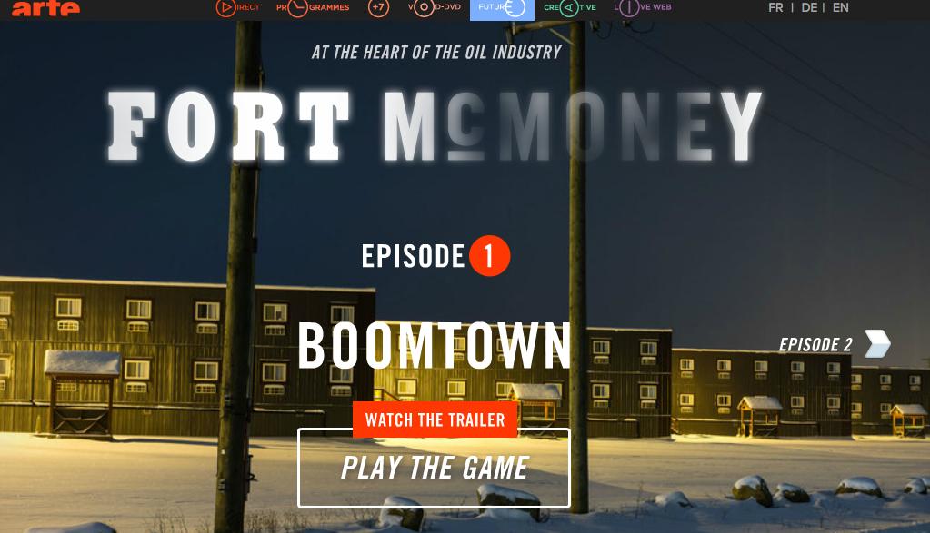 Fort McM open screen