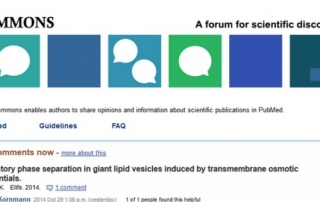 pubmedcommons featyred