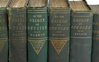 6_editions_of_'The_Origin_of_Species'_by_C._Darwin,_Wellcome_L0051092