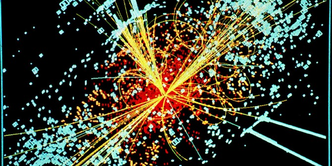 large hadron collider open science