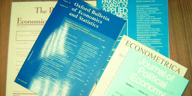 economics Research Journals