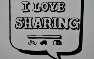 sharing featured