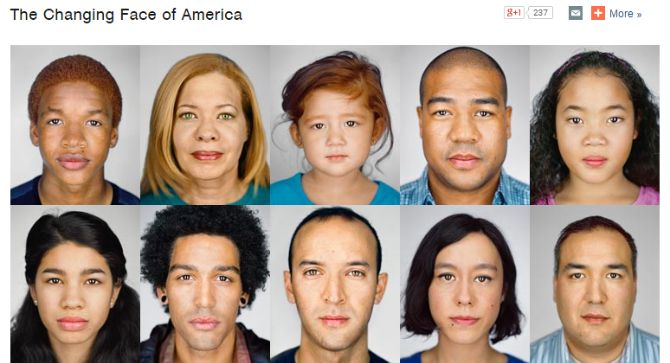 changing face of america