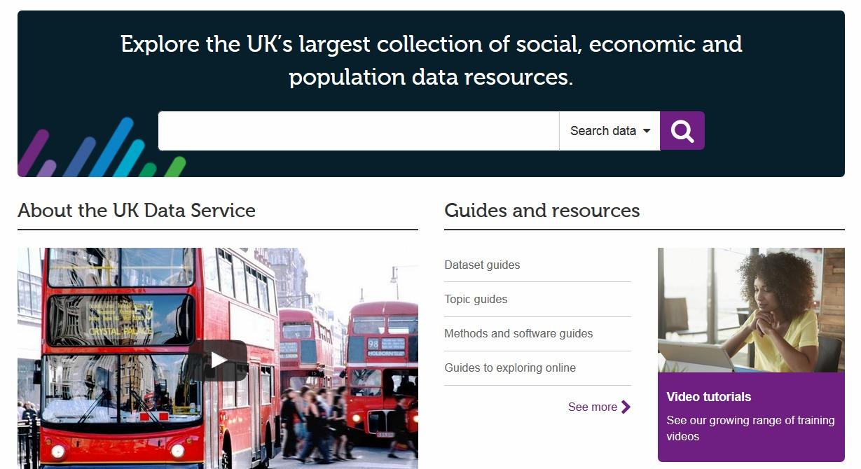 ukdata service main page