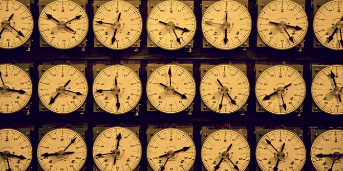 machine dials