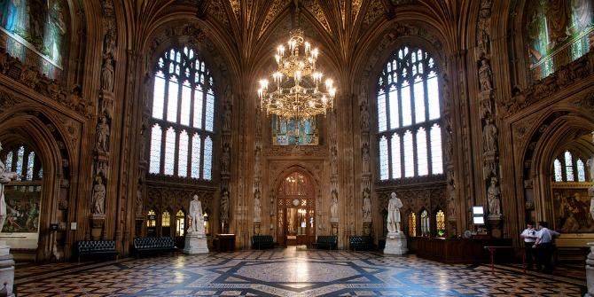 parliament lobby