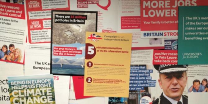 brexit campaign literature