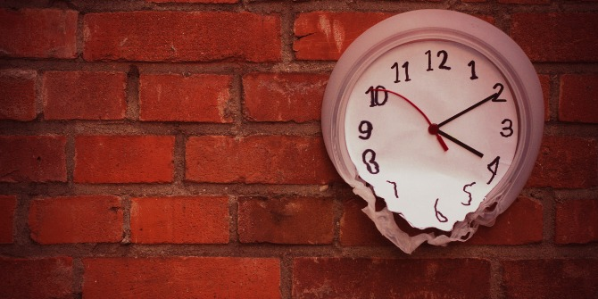 It's time to teach — but which time is it? Tracing academic practices through more appropriate time metrics.