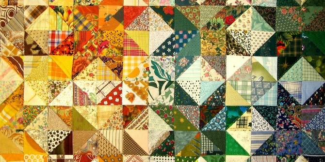 Quilt Block Patterns In Public Domain : Impact of Social Sciences Woven into the Fabric of the Text: Subversive Material Metaphors in ...