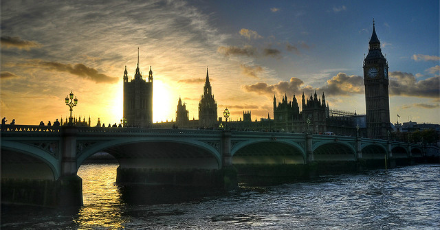 parliament-sunset