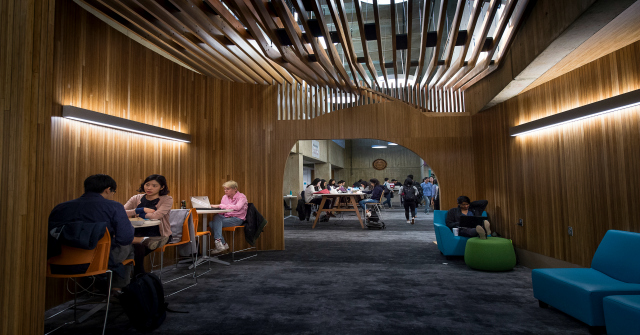 Reimagining the role of the library in the digital age: changing the use of space and navigating the information landscape
