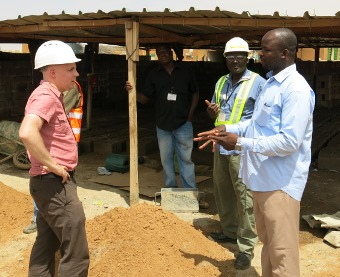Jeff Geipel in Burkina Faso (MSc Development Studies, 2011-2012)