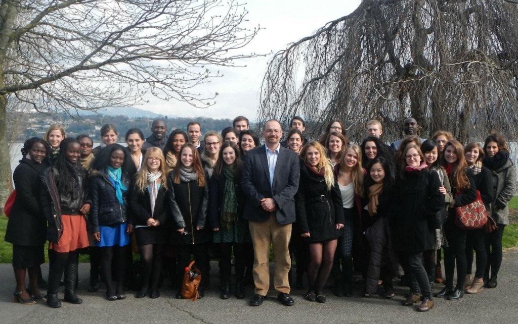 LSE IDHE students in Geneva