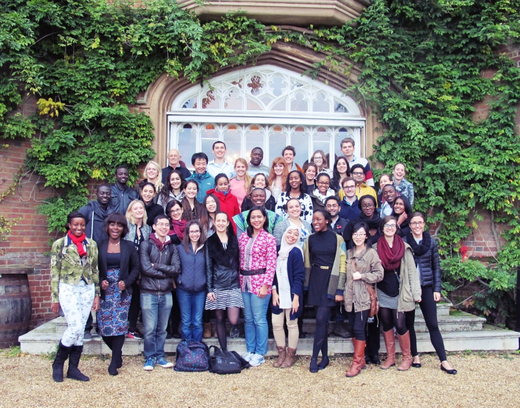 MSc Development Management students at Cumberland Lodge. Photo: Benazir Syahril