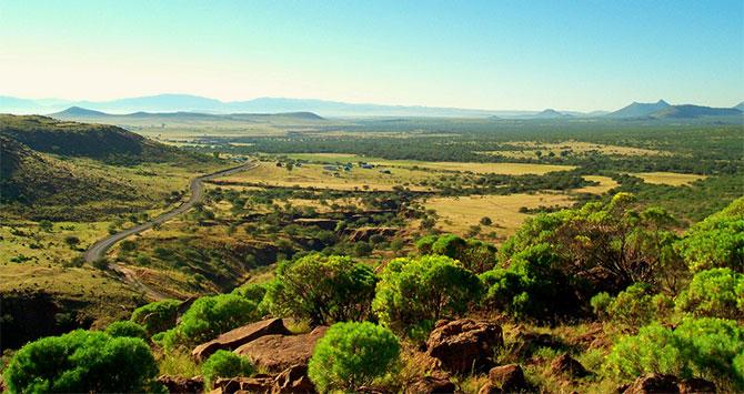 Elliott Green talks about land reform in South Africa