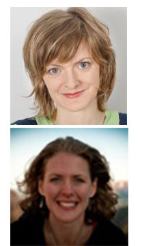 Dr Mareike Schomerus (top) and Dr Anouk Rigterink