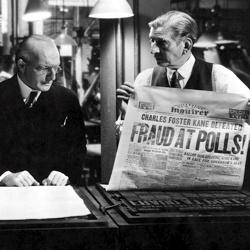Citizen Kane (Cropped Still) - Fraud At Polls