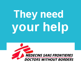 Medecins Sans Frontieres (via Flickr: https://www.flickr.com/photos/85887376@N06/8032315735/)
