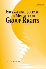 International Journal on Minority And Group Rights, Special JSRP Edition
