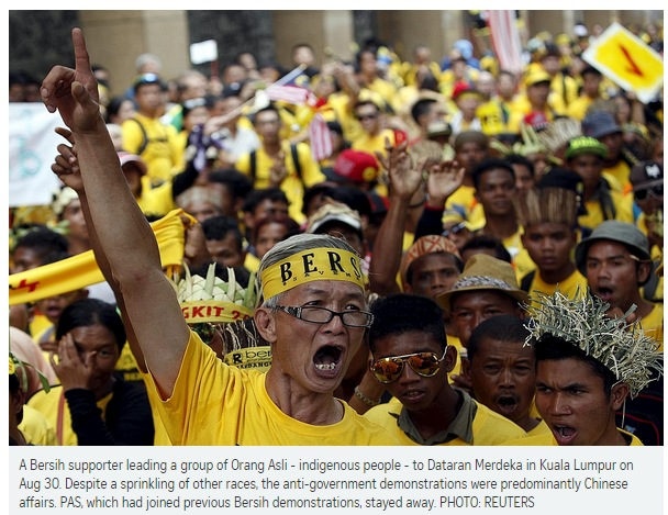 Bersih photo used in Bilahari article