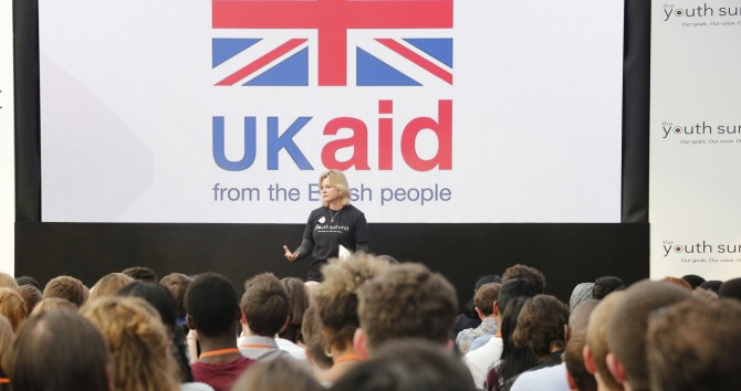 Youth Summit 2015 - Justine Greening, via DfID on Flickr (https://www.flickr.com/photos/dfid/21365543951/). Licence: CC BY-SA 2.0