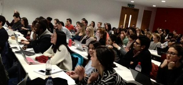 LSE students attending a lecture