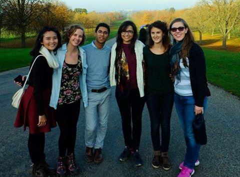 The LSE MSc International Development Students enjoying their free time in Windsor Great Park