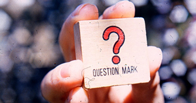 Question Mark via Karen Eliot (Flickr, licence: CC BY-SA 2.0)