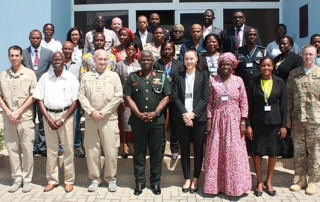 The Humanitarian Assistance in West Africa (HAWA) course brings together civilian, police and military actors together in an intense two-week course in Ghana.