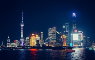 Shanghai by Night by Jannes Glas.(via Flickr, CC BY-NC 2.0)
