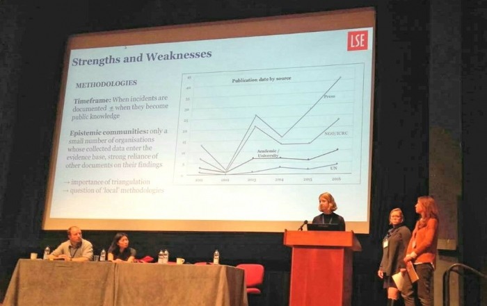 The LSE takes Attacks on Healthcare to Health Through Peace Conference