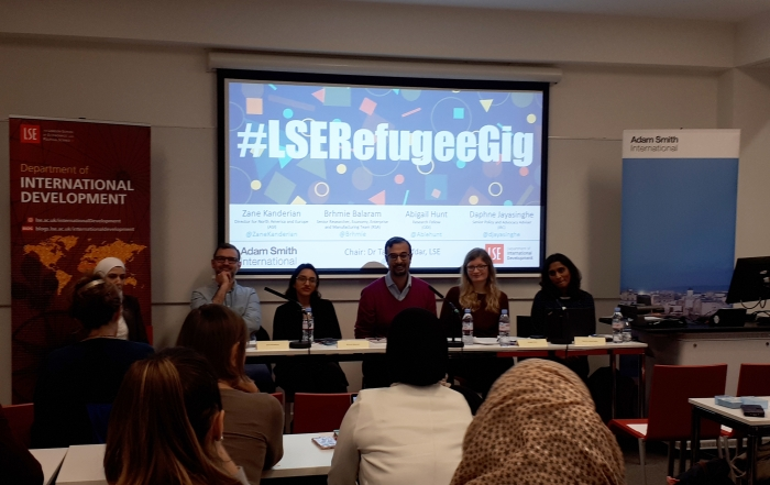 Refugees and Gig Economy Panel Discussion