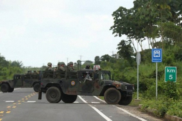 Security crisis in the Colombo-Ecuadorian border: The other side of the Colombian peace process