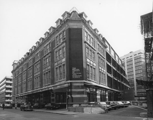 The LSE Library Building 1978