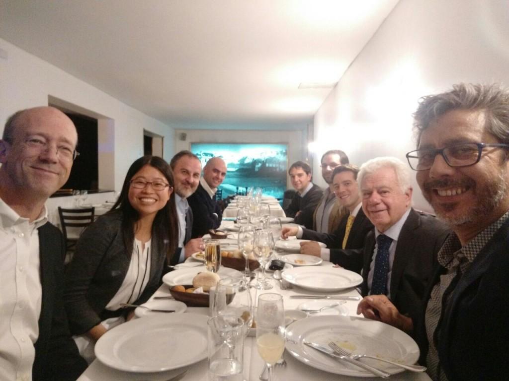 LSE Chilean Alumni Dinner for Professor Alden and Dr Mendez (10 May 2016)