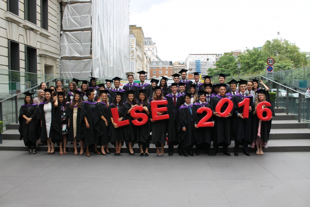 BSc IR graduating class 2016 - 1