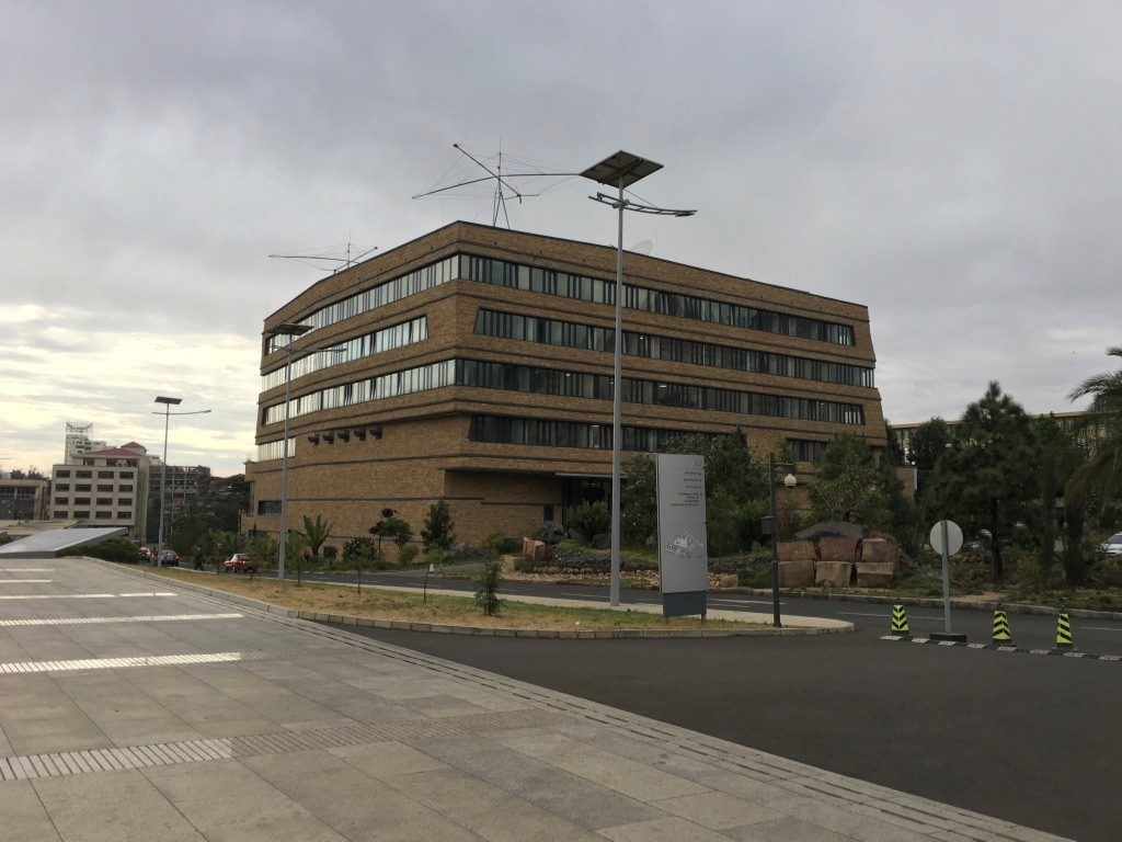 The new offices of the AU Peace and Security Department