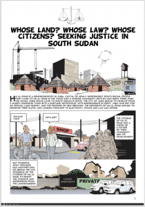 Whose Justice Anyway - South Sudan Cartoon Movement