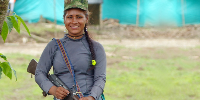 Para no pasar del fusil a la olla: retos de la reincorporación civil y política de las mujeres guerrilleras en Colombia