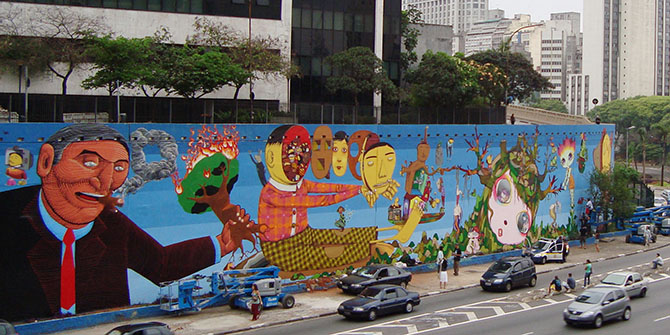 Graffiti vs the 'Beautiful City': Urban Policy and Artistic Resistance in São Paulo