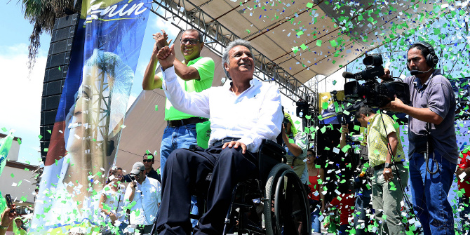 Ecuador's election of the Global South's first wheelchair-using president can drive vital debate on disability and development