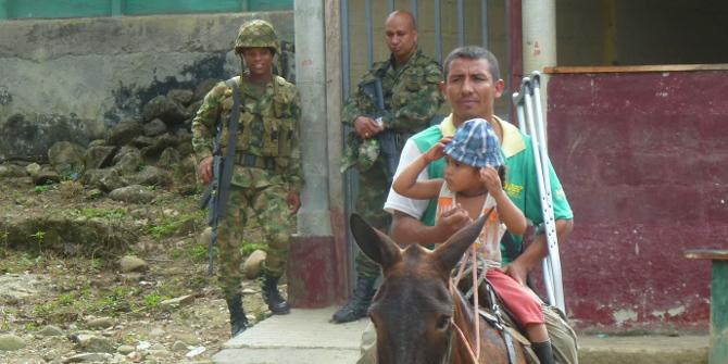 Los héroes invisibles de Colombia