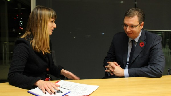 LSEE's Tena Prelec in conversation with Serbia's Prime Minister Vucić
