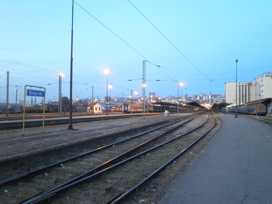 Belgrade's existing railways that lead to the main railway station will be relocated. Photo: Jorn Koelemaij